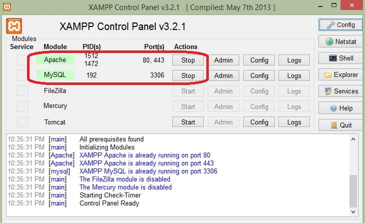 Installing XAMPP on USB Flash Drive (Portable Web Server